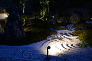 写経場「書院」の庭園