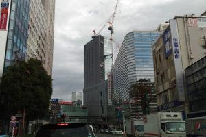 横浜中心部に来るのは久しぶり