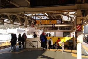 JR鎌倉駅ホーム