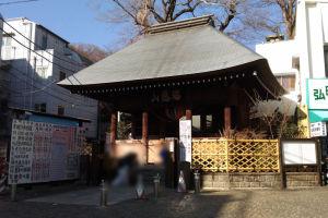 瑞應山 蓮華院 弘明寺、入口の「仁王門」