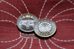 天皇陛下御在位30年記念500円引換え