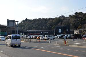 「葉山ステーション」の駐車場