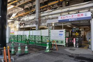 京急線のエレベーター専用改札