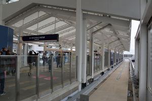 シーサイドライン新駅舎
