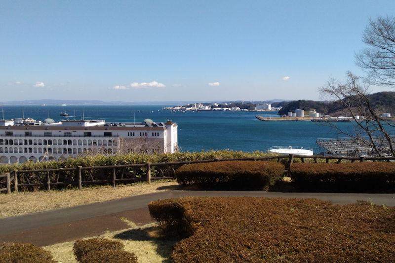 東京湾の眺めも中々いいです