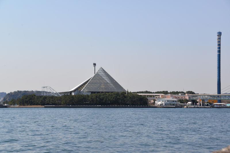 八景島シーパラを北側から撮影