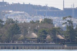 野島の旧伊藤博文金沢別邸と