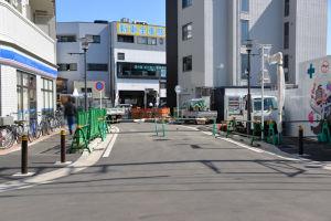 八景駅周辺駐輪禁止区域