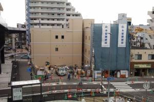 令和元年5月9日八景駅周辺の工事