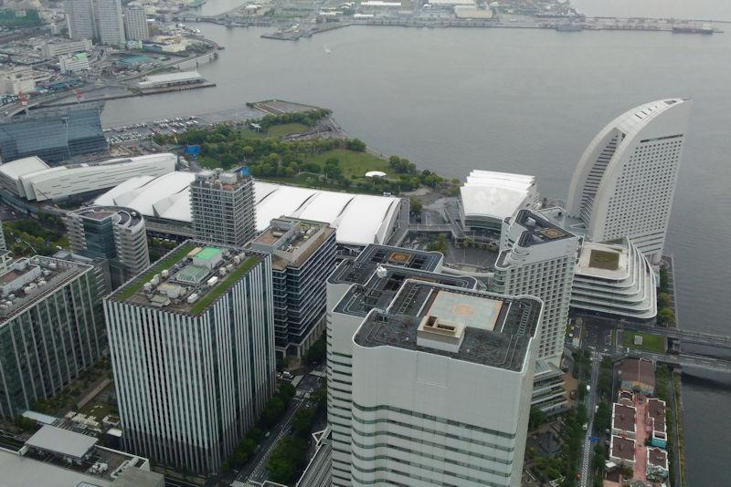 クイーンズスクエアとパシフィコ横浜