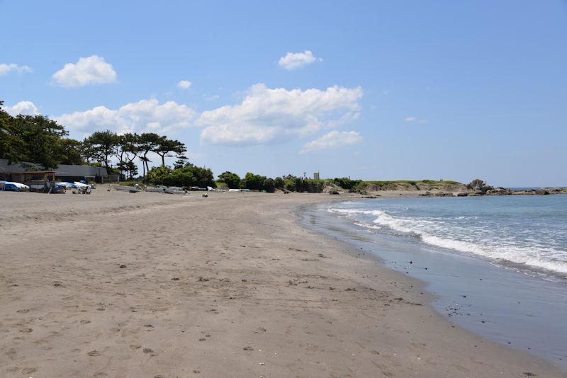 葉山御用邸一色海岸