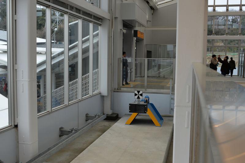 新金沢八景駅の車止め