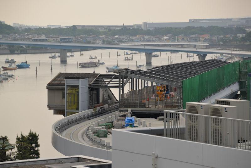 令和元年6月2日八景駅周辺の工事
