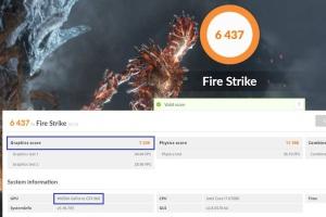 Fire Strikeのスコア