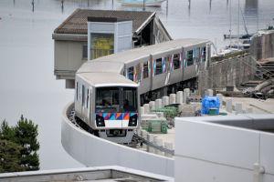 令和元年7月13日八景駅周辺の工事