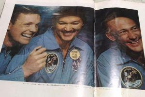 空母ホーネット艦上の3飛行士