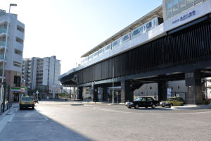 金沢八景駅前ロータリー