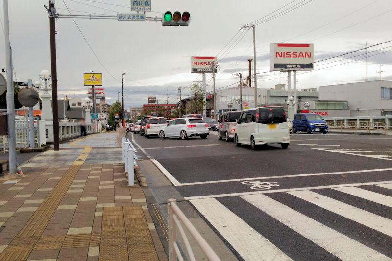 内川橋交差点