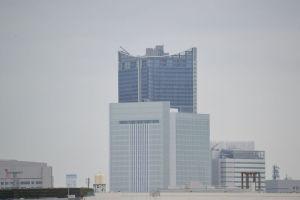 南区からみえる横浜新市庁舎