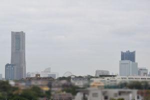 ランドマークと横浜新市庁舎