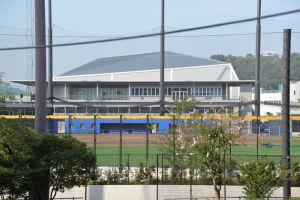 新施設グラウンドと建物