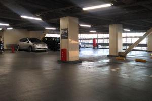車を避難させたタイムズSUN HAPPY駐車場