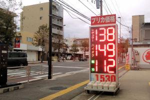 ガソリン価格は安定していますが