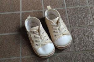 履いてきた靴は15cmでした