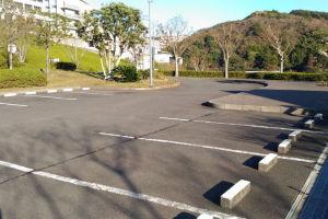 駐車場の利用も少なく