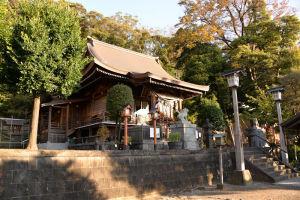 境内からの拝殿