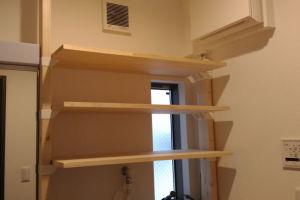簡単な棚作り「ラブリコ」