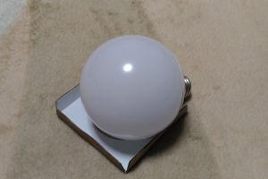 60Wのボール型LED電球は少し