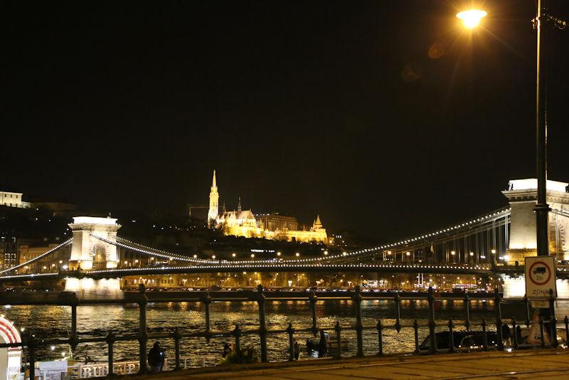 ハンガリーブダペストの街並み