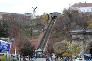 ブダペスト王宮の丘ケーブルカー