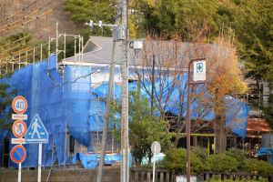 工事中の瀬戸神社新社務所