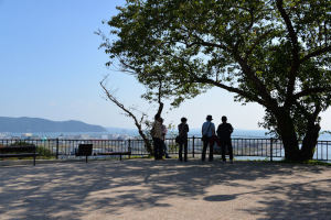 標高60.4mの石巻市日和山公園
