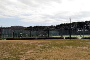 テニスコートは5面あります