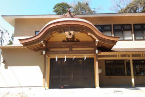 瀬戸神社新社務所が完成