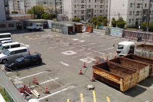 サニーマート駐車場だった場所