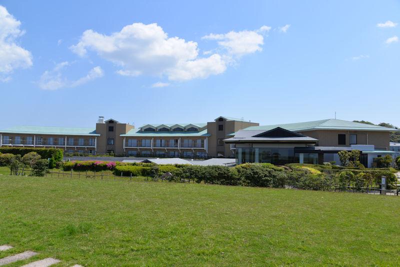 センター西側の芝生広場