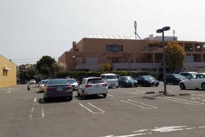 ヨークマートの駐車場
