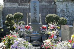 港南区日野霊園にあるひばりさんのお墓