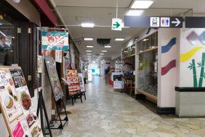 金沢八景イオン3階でボヤ