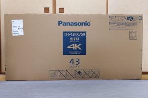 パナテレビ型落ちTH-43FX750
