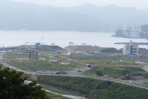 志津川中学校からの南三陸町