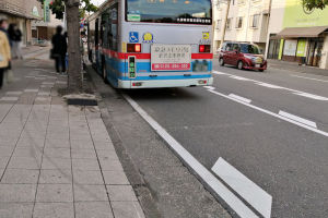 横浜六浦郵便局前の交通事故