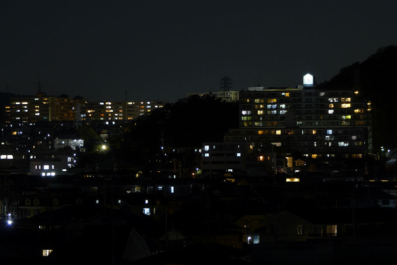 昨夕の停電