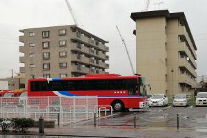 横浜市消防局音楽隊のバス