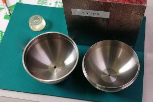 チタン合金から球体の直径57mm