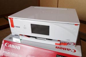 TS8330は最初ネットで白を注文